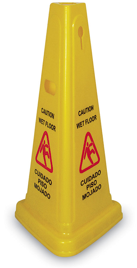 Floor Cone - 4 sided - 25""