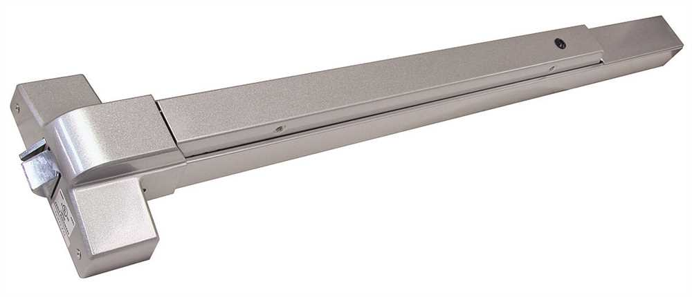 Panic Push Bar Aluminum