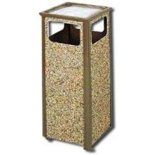 Aspen Series Receptacle - 12 gallon
