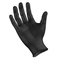 Gloves - Nitrile - Black - Large