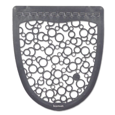 Urinal Mat - Gray on White