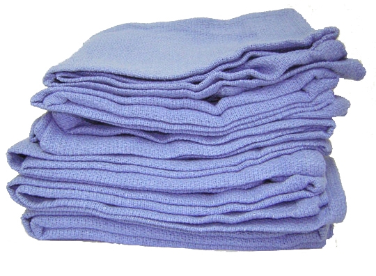 Blue Huck Towel