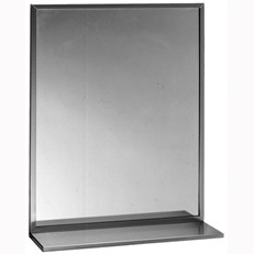 "Mirror with Shelf - 18"" x 30"""
