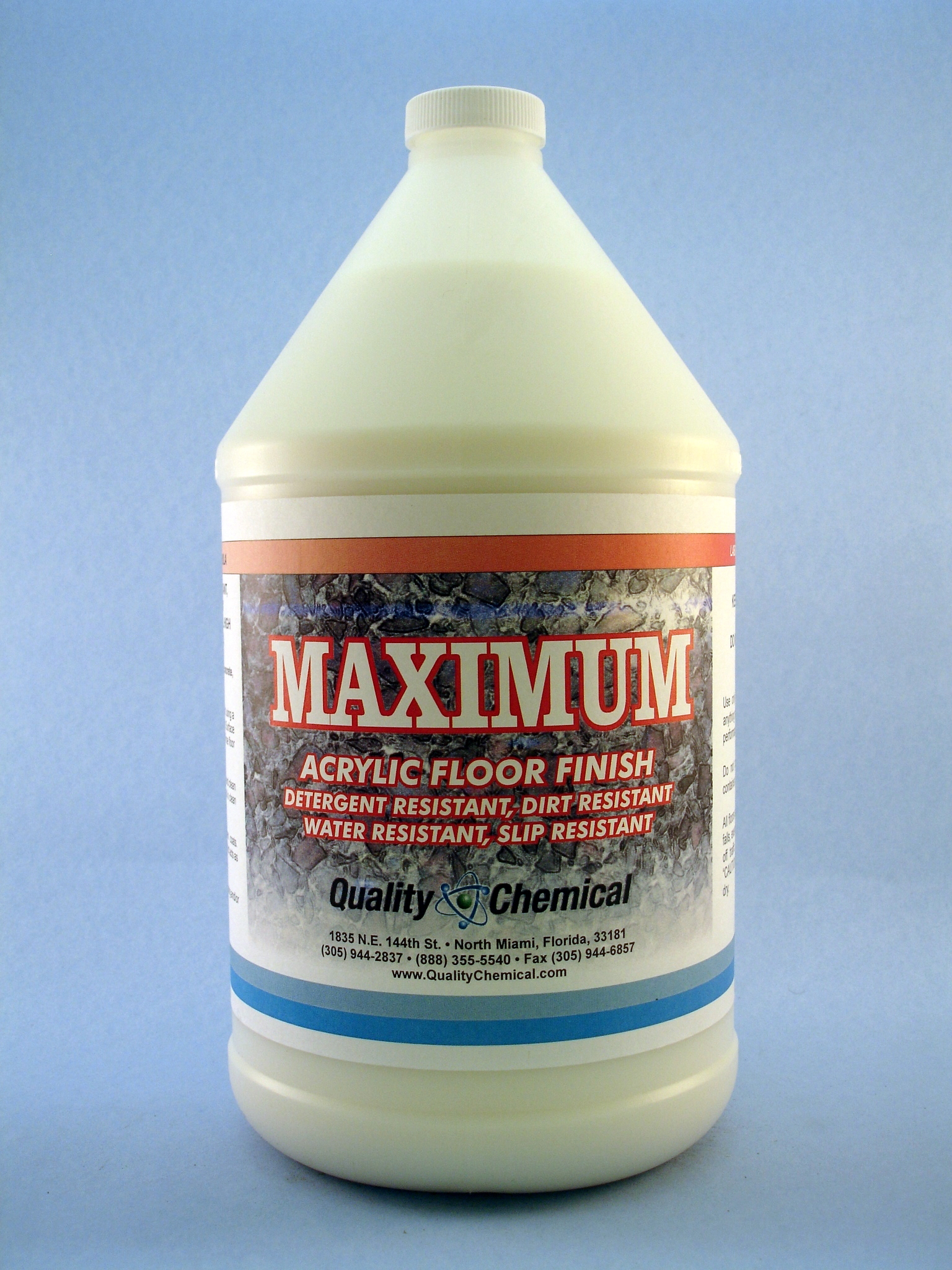 Maximum High Solids Floor Finish