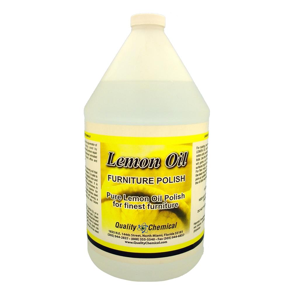 Quality Chemical Company Lemon Oil Furniture Polish