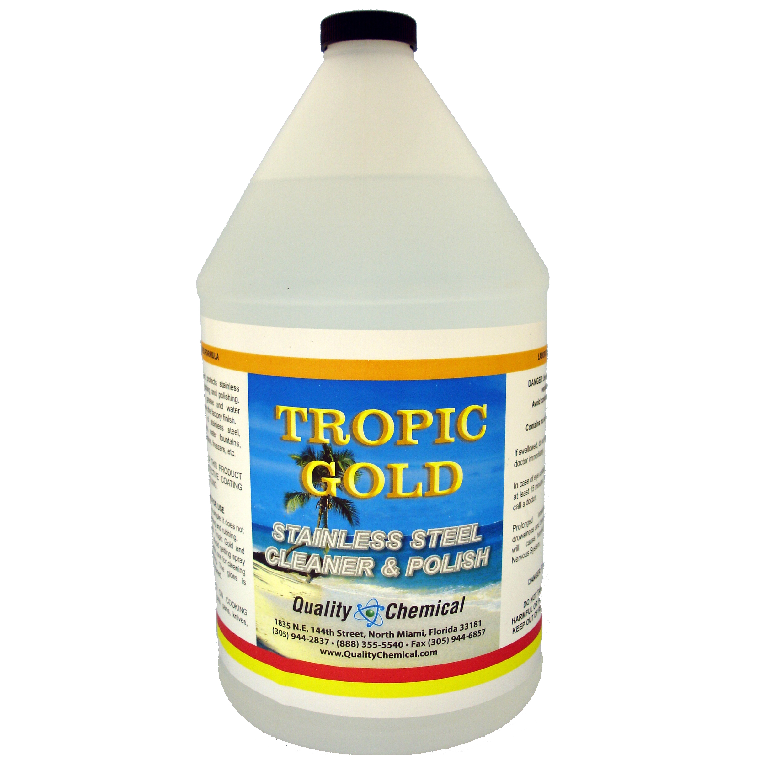 Tropic Gold Stainless Steel Polish