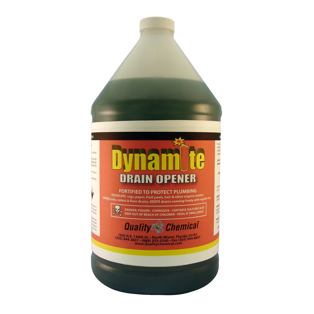 Quality Chemical Company Dynamite Drain Opener