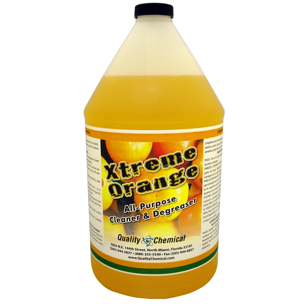 Quality Chemical Company Xtreme Orange Citrus Degreaser