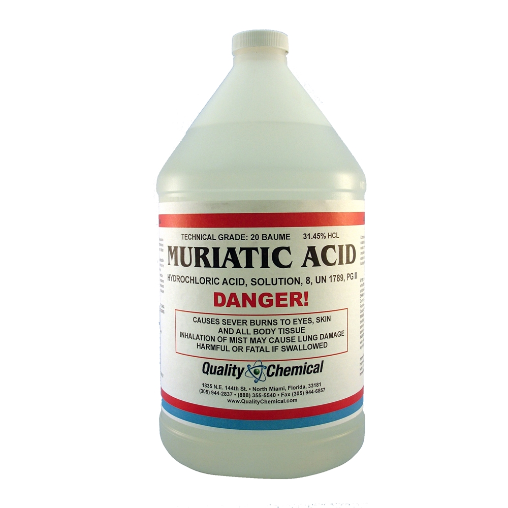 Quality Chemical Company Muriatic Acid