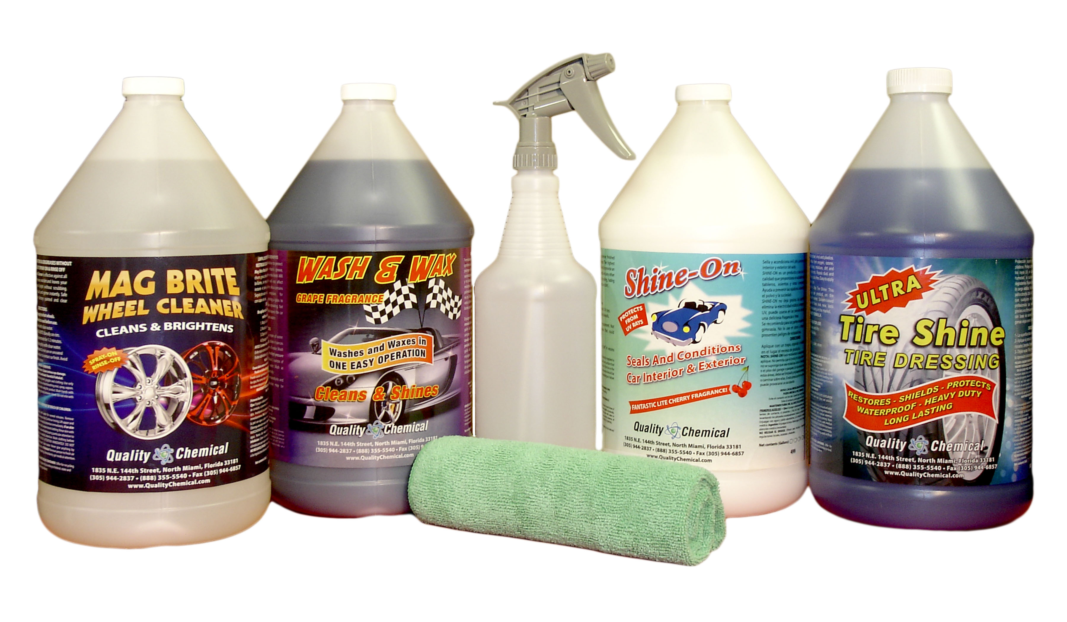 Professional Car Detailing Kit