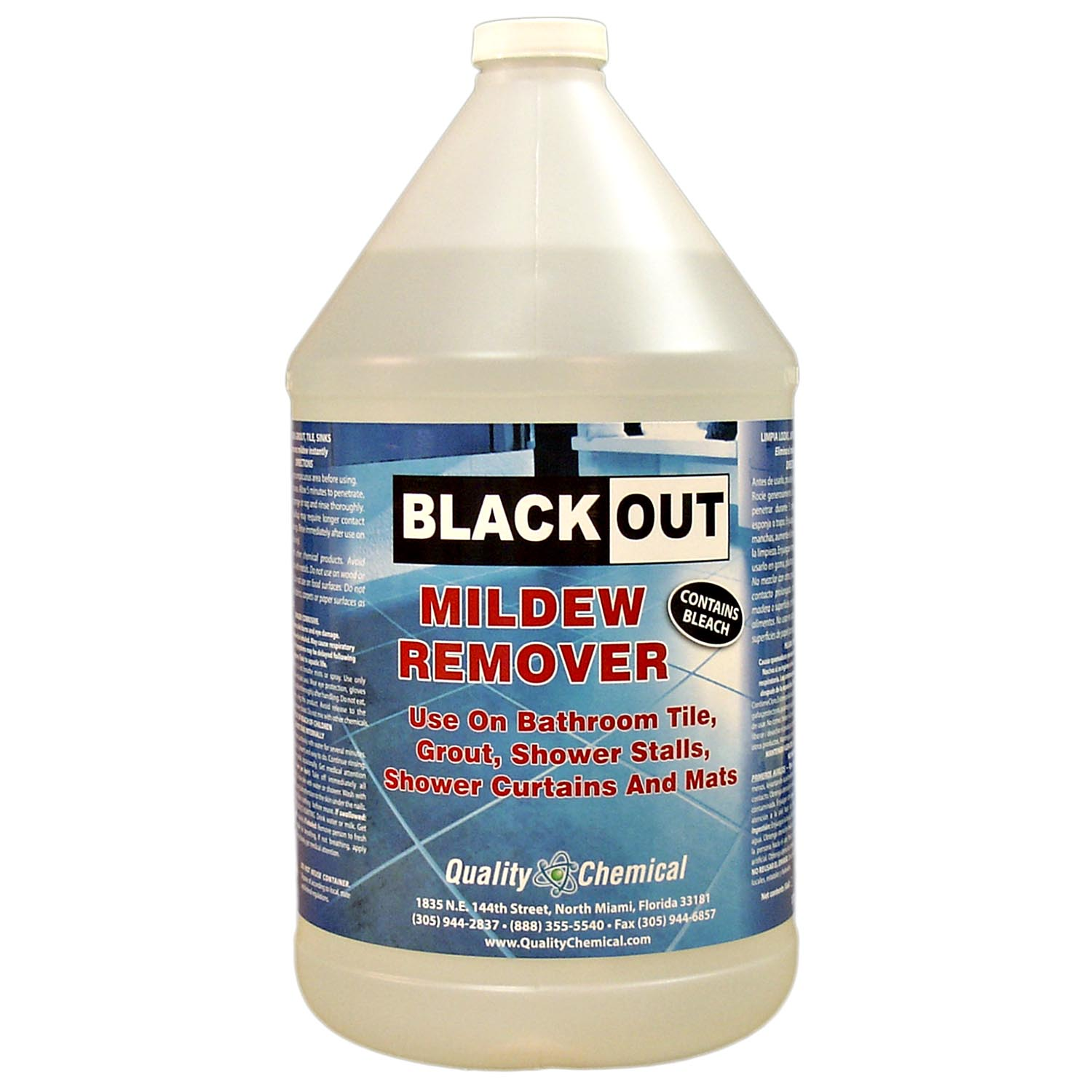 Black Out Soap Scum & Mildew Stain Remover