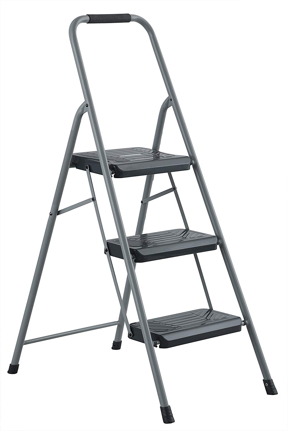 Step Stool - Steel, 3 step