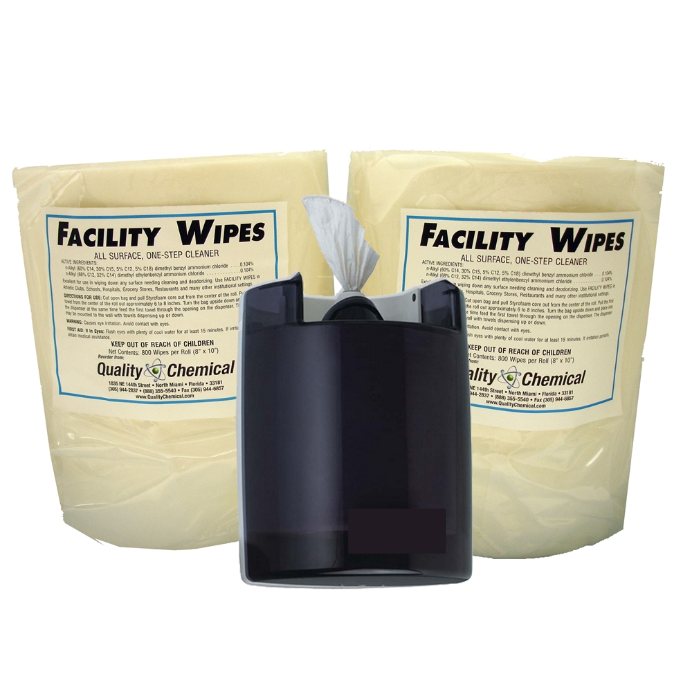 Quality Chemical Company Facility Gym Wipes