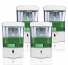 Automatic Dispenser for Soap/Sanitizer - 4 pack