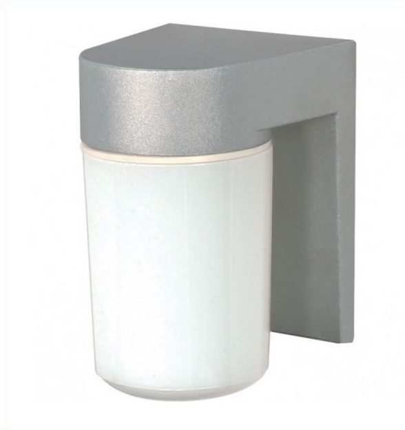 Outdoor Wall Fixture with Glass Cylinder