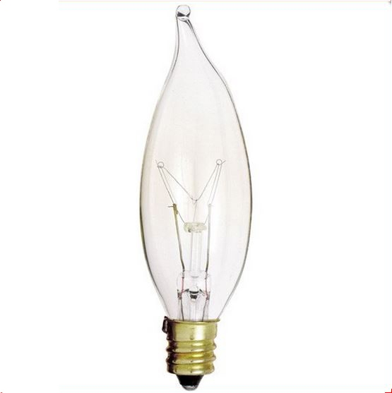 25 watt CA8 Incandescent