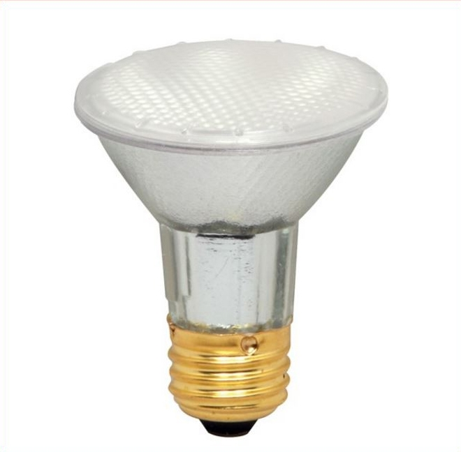 Halogen - 39 watt - PAR20, frosted, med. Base