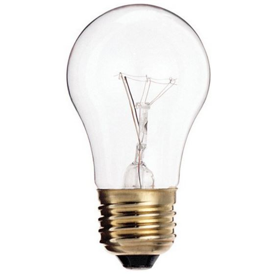 Incandescent 40w clear