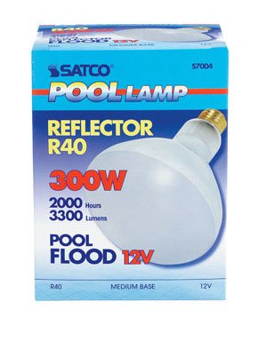 Incandescent Pool Lamp - 12 volt