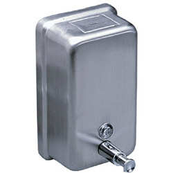 Soap Dispenser - Metal Vertical