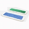 Microfiber Fringed Wet Mop Pad - Green