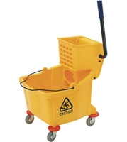 Mop Bucket with Wringer  - 35 quart