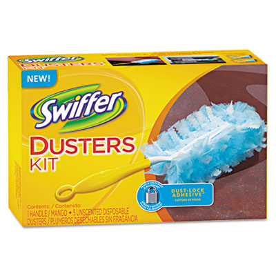 "Swiffer Duster with 6"" handle"