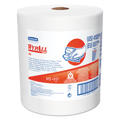 Wypall X80 Jumbo Roll White Shop Towel