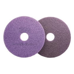 Purple Diamond Floor Pad