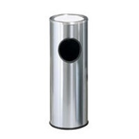 Ash/Trash Receptacle Stainless Steel
