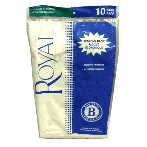Royal Type B Vacuum Bags - 10 per Pack