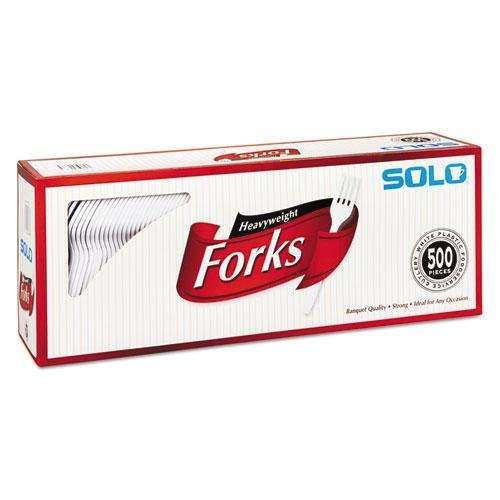 Heavy-Weight Plastic Forks - 500 ct.