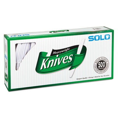 Heavy-Weight Plastic Knives - 500 ct.