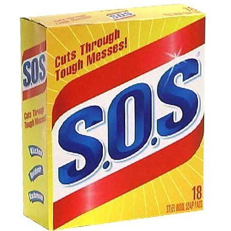 SOS Steel Wool Soap Pads