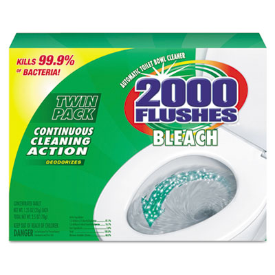 2000 Flushes Bleach Antibacterial Automatic Bowl Cleaner
