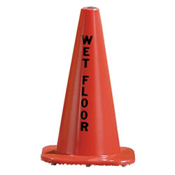 "Floor Cone - with ""Wet Floor"""