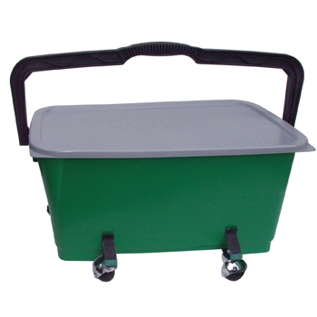 Window Cleaning Bucket with Wheels